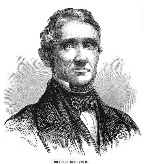 Portrait von Charles Goodyear
