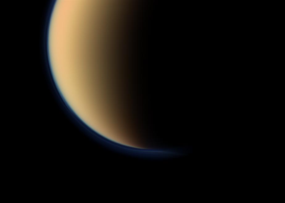 Propen auf dem Saturnmond Titan