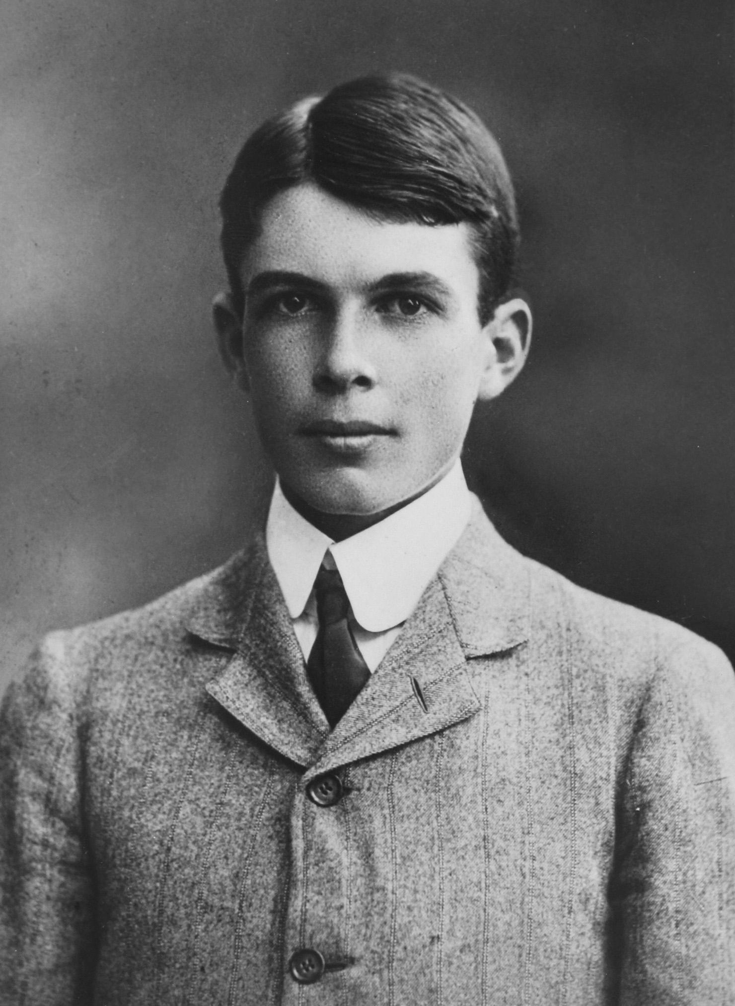 William Lawrence Bragg 1890-1971. Nobelpreis für Physik 1915